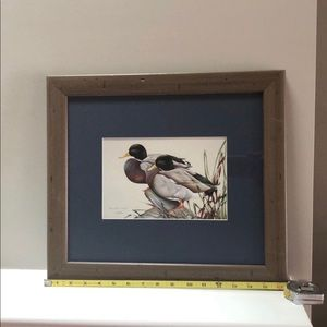 Great Wall picture  16 1/2 x14 1/2 framed
